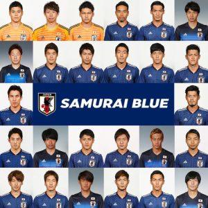 サッカー日本代表2018メンバー